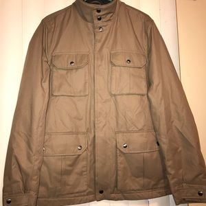 Banana Republic Khaki Canvas Utility Jacket